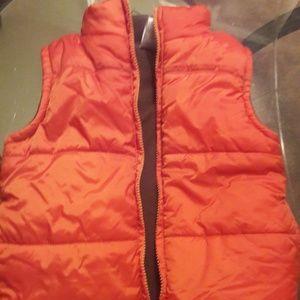 Gymboree Unisex!  size 3/4 Orange Puffer Jacket